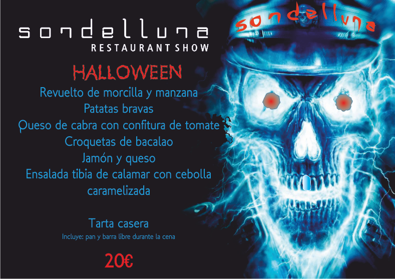 Cena de Halloween 2013 en Sondelluna