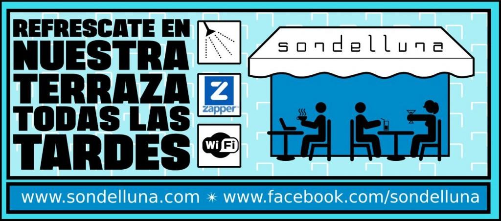 Flyer terraza Sondelluna