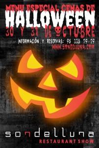 Sondelluna Flyer Halloween