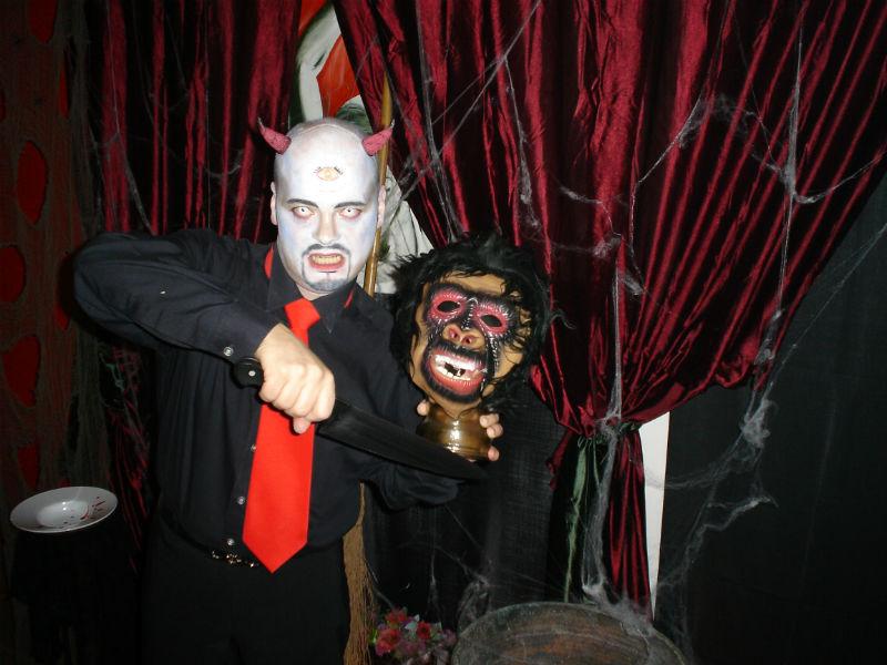 Cena de Halloween 2014 en Sondelluna
